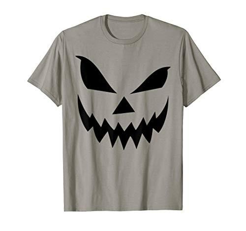 Scary Jack O Lantern Pumpkin Halloween T-shirt ()