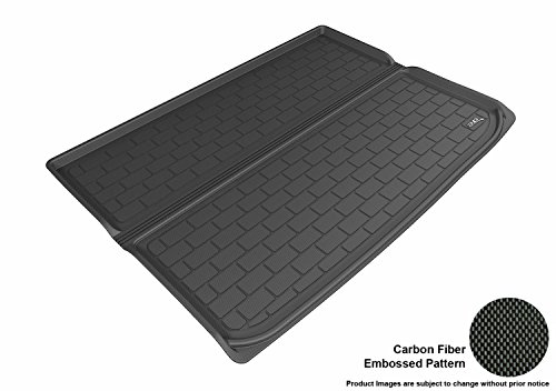 (3D MAXpider M1CH0591309 Custom Fit All-Weather Cargo Liner for Select Chevrolet Suburban Models - Kagu Rubber (Black))