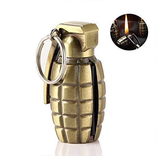 AIKENR Mini Model Matchstick Fire Starter, Flint Match Lighter Key Rings, EDC Best Gift Ideas and BBQ Camping Emergency…