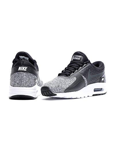 ... Nike Air Max Null Essensielle Gs Ungdom Joggesko Sort Antrasitt Hvit  003 ...