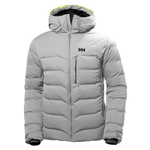 (Helly Hansen Men's Swift Loft Jacket, Light Grey, S)