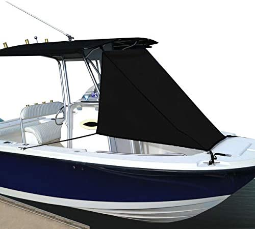 Black  T-Top Bow Shade  [Oceansouth] detail review