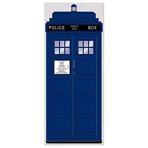 Beistle Police Call Box Door Cover