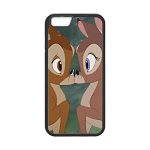 Bambi Character Bambi iPhone 6 Plus 5.5 Inch Cell Phone Case Black Rbgpm