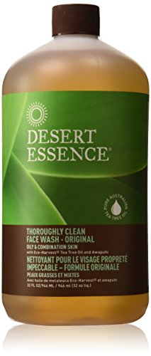Desert Essence Thorough Clean Face Wash Oily Skin 32 (Desert Essence Face Wash)