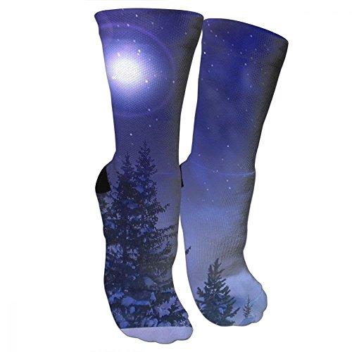 Stocking Season (CUUOP13 Winter Season Unisex Compression Socks For Running, Nurses, Shin Splints, Travel, Flight, Pregnancy & Maternity.)