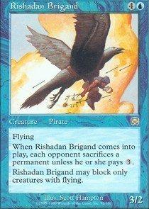 Magic: the Gathering - Rishadan Brigand - Mercadian Masques