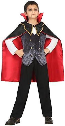 Atosa 18179 Disfraz vampiro 7-9 años, talla niño: Amazon.es ...
