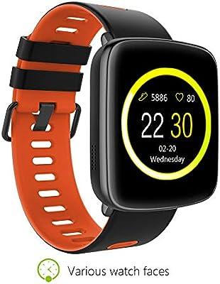 Amazon.com: KINGWEAR GV68 PK dm58 Smart Watch IP68 ...