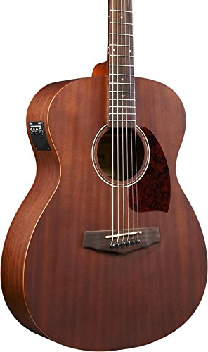 Ibanez Performance Series PC12MHCEOPN Grand Concert Acoustic-Electric Guitar Satin Natural (Grand Acoustic Guitar)
