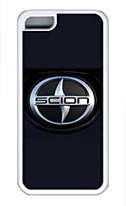 iPhone 5C Case, iPhone 5C Cases - Protective Soft-Interior Scratch Protection Case for iPhone 5C Scion Car Logo 10 Soft Flexible Extremely Thin White Case for iPhone 5C