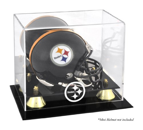 Mounted Memories Pittsburgh Steelers Mini Helmet Display Case
