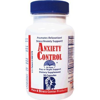 Anxiety Control 24 Hour by Pain & Stress Center Products