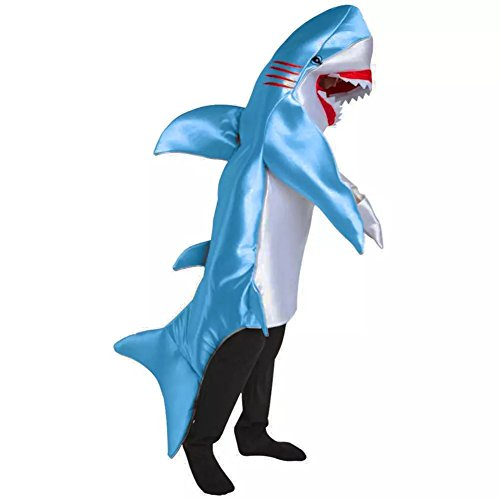 Kacm Halloween Adults Marine Animals Shark Costume