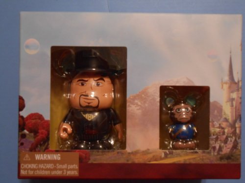 OZ The Great and Powerful Disney Vinylmation 3'' & Jr. Combo Pack Figure Oscar Diggs & Finley -