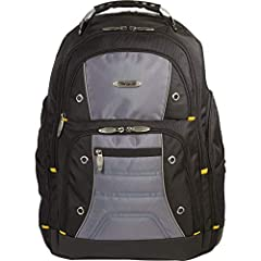The Targus drifter II Laptop backpack is designed to fit laptops with up to 16 Inch screens. This backpack features two large compartments for storage including a padded laptop compartment that keeps the device secure and separate from other ...