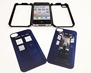 iphone covers Tardis Doctor Who Iphone 6 plus Case with 2 different interchangeable inserts, Iphone Cover, Iphone Black - All Carriers