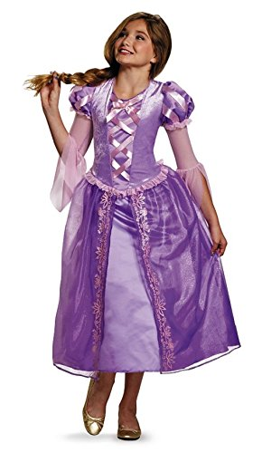 12 Year Old Disney Princess Costumes (Rapunzel Tween Disney Princess Tangled Costume, Large/10-12)