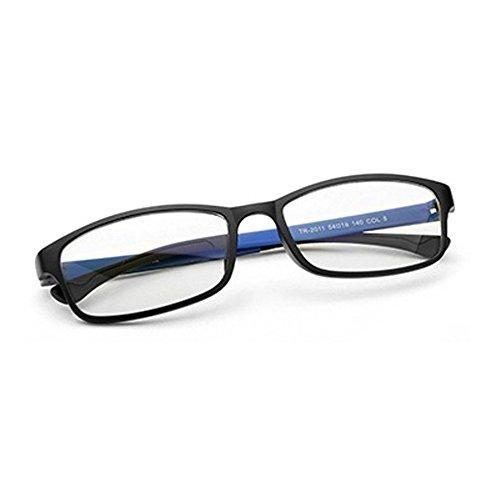 5ee8f3ed02 El servicio durable Unisex Monturas de gafas Rectangulares para Mujeres y Hombre  Forepin® Gafas de