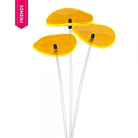Cazador Del Sol Lucille 3 Stück Geschwungene Sonnenfänger Gelb