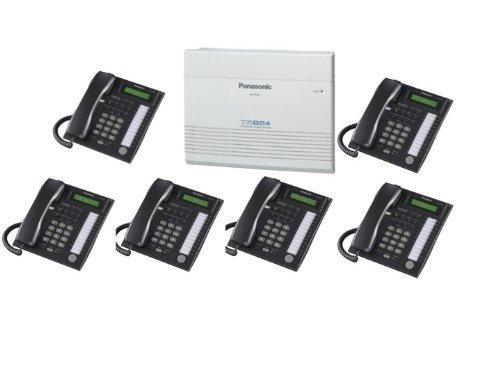 Advanced Hybrid Telephone System (Panasonic KX-TA824-PK6 (KX-TA824, 6 KX-T7731) Packages Black)