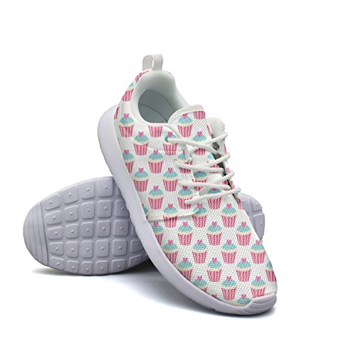 New Paper Cup Love Cake Attractive Women Novelty Running Shoes Plush Of Month Club