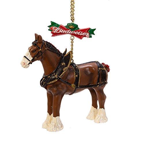Kurt Adler 4-Inch Budweiser Clydesdale Horse ()