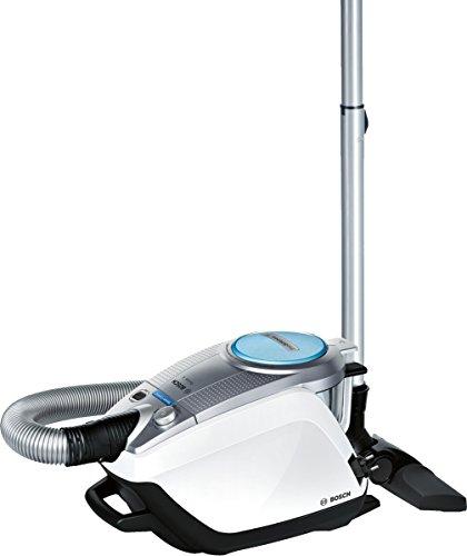 Bosch BGS5331 Bodenstaubsauger Relaxx'x ProSilence Plus, EEK A, beutellos, QuattroPower System, SensorControl, weiß