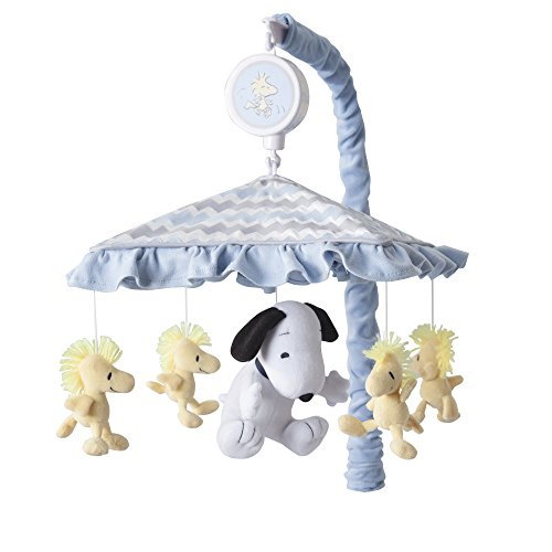 Lambs & Ivy My Little Snoopy Musical Mobile (Snoopy Mobile Musical)