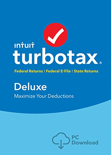 TurboTax Deluxe 2016 Tax Software Federal & State + Fed