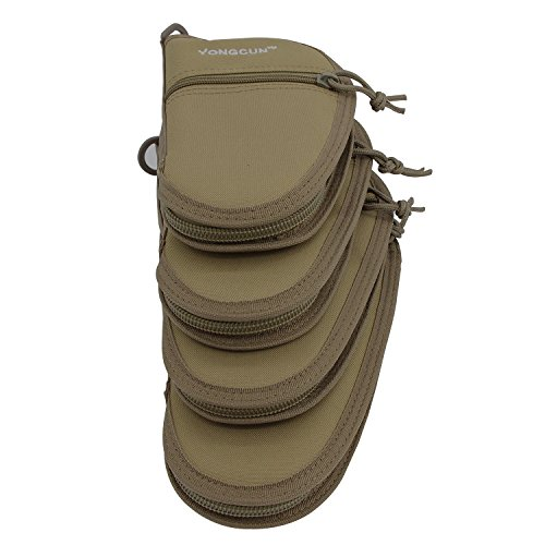Pistol Bag Case Hand Gun Cases Rug Size 9 5inch Tan 600d