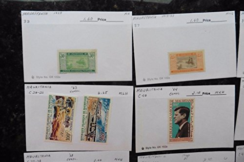 The 8 best mauritania stamps