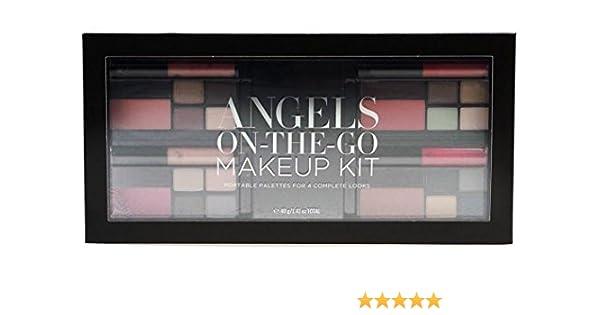 Victoria de SECRET Angels on the go maquillaje Kit – 4 paletas con estuche compacto – Sombra de Ojos, colorete Gel Delineador de ojos Set de regalo para ella: Amazon.es: Belleza