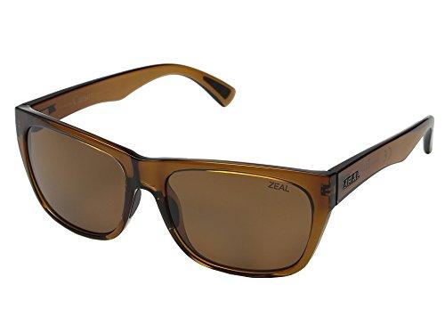 (Zeal Optics Unisex Carson Burnt Sienna/Copper Polarized Lens One Size)