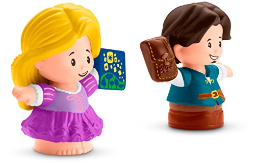 Fisher-Price Little People Disney Princess, Rapunzel & Flynn Figures (Little People Prince)