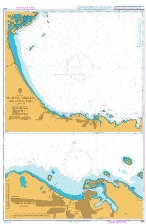 Ba Chart 1628  Puerto Cabello and Approaches by United Kingdom Hydrographic Office
