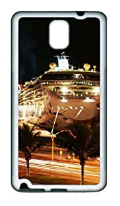 Samsung Galaxy Note 3 N9000 Case and Cover -Puerto Vallarta TPU Silicone Rubber Case Cover for Samsung Galaxy Note 3 N9000¨C White