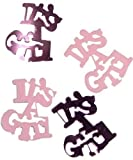 Pink It's a Girl New Born Party Table Confetti [RC]