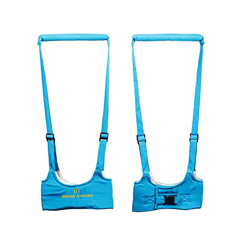 Ibepro® Babywalker Baby Toddler Walking Assistant Protective Belt Carry Trooper Walking Harness Learning Assistant Learning Walk Safety Reins Harness Walker Wings (Blue) (Bat Tub Baby compare prices)
