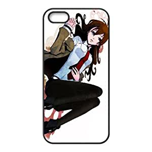 iPhone 5, 5S Phone Case Steins Gate Personalized Cover Cell Phone Cases GHR762732
