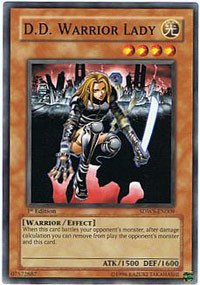 Yu-Gi-Oh! - DD Warrior Lady (SDWS-EN009) - Structure Deck Warriors Strike - 1st Edition - Common