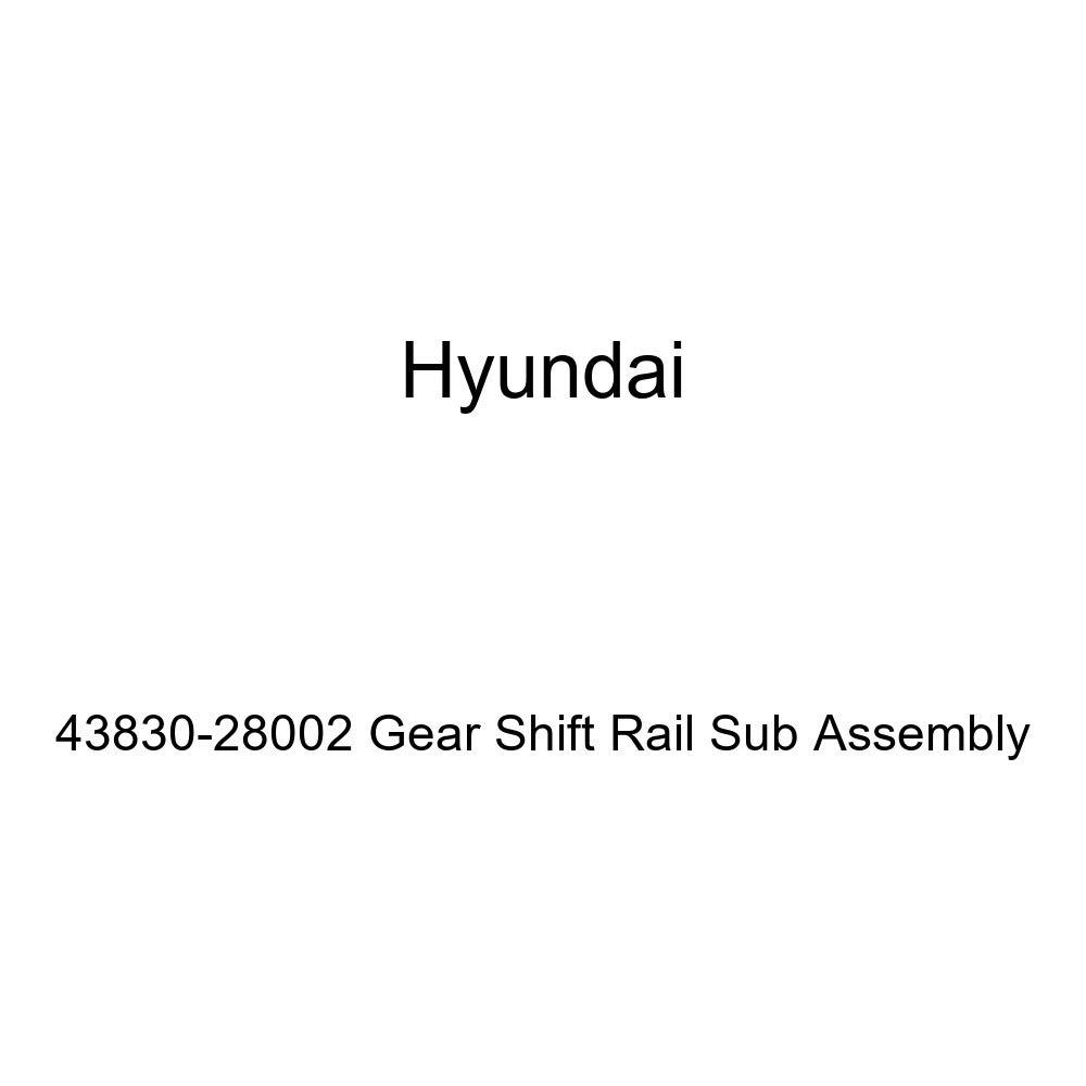 Genuine Hyundai 43830-28002 Gear Shift Rail Sub Assembly Cables ...