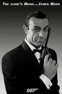 James Bond-The Name's Bond, Movie Poster Print, 24 by 36-Inch