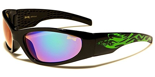 Green Choppers Oval Shaped Phoenix Trim Motorcycle Bikers Day Riding Men'S - Sunglasses Buy Phoenix