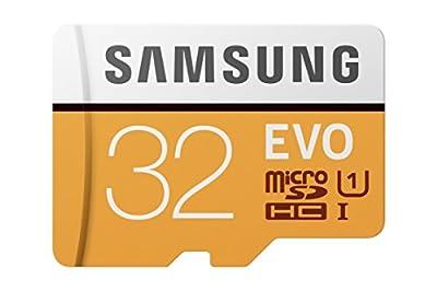 Samsung MB-MP32GA/AM 32GB MicroSDHC EVO Memory Card with Adapter
