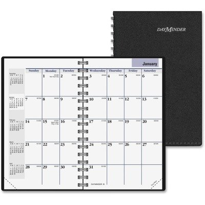 AT-A-GLANCE Monthly Planner for 2010, Unruled, 3.75 x 6 Inches, Black (G450-00)