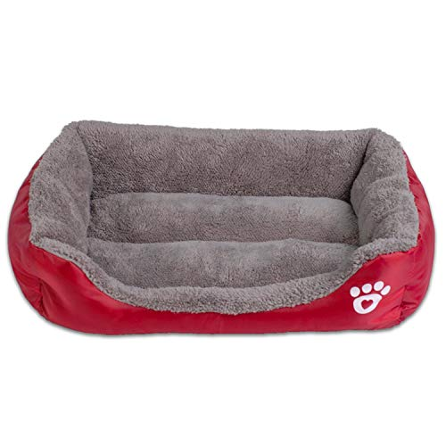 Amazon.com : Sex Appealing S-3XL 9 Colors Paw Pet Sofa Dog Beds Waterproof Bottom Soft Fleece Warm Cat Bed House Petshop Dropshipping cama perro, Blue, ...