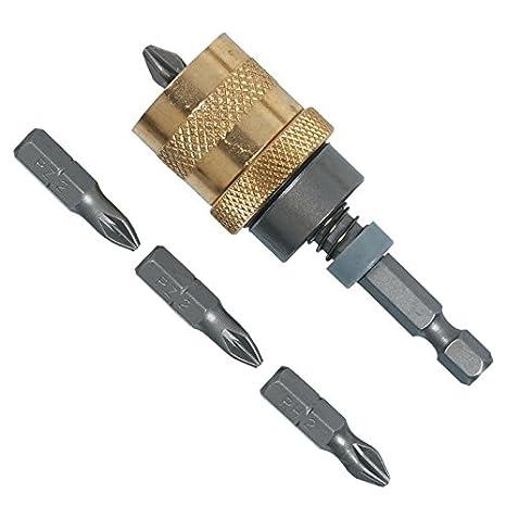 Stanley Trockenbau-Bithalter magnetisch Tiefenanschlag Bit Gipskarton