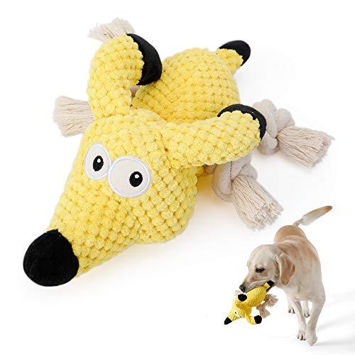 Hundespielzeug, Welpenspielzeug Squeaky Plüsch Spielzeug, Hunde Spielsachen Intelligenz Hundespielzeug für Welpen Kleine…
