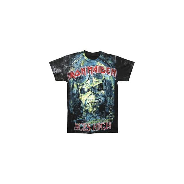Rockabilia Iron Maiden Aces High T shirt